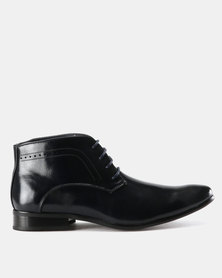 Zah Chairman Boots Black/Navy