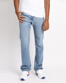Levi's® 505™ Regular Fit Jeans Hellconia Blue