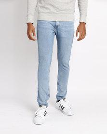 Levi's 512 Slim Taper Jeans Uncle Henry Blue