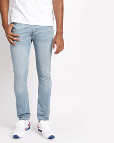 Levi's®  501 ® Skinny Fit Jeans West Coast Stretch Blue