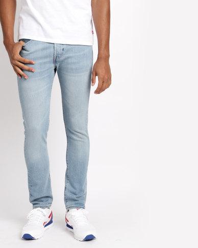 ac26e672 Levi's® 501 ® Skinny Fit Jeans West Coast Stretch Blue | Zando