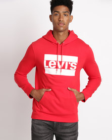 Levi's® Graphic Hoodie Olympic Pull Over Chinese Red