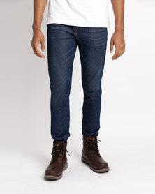 Levi's 512 Slim Taper Fit Jeans The Run Blue
