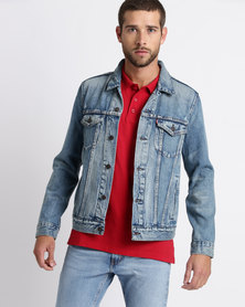 Levi's® The Trucker Jacket The Hood Blue