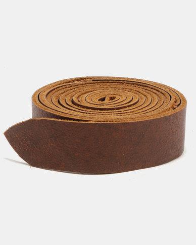 non-european ® Wrap Belt Soft Brown