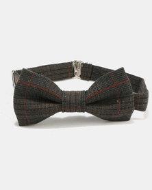 non-european® Bow Tie Dark Check