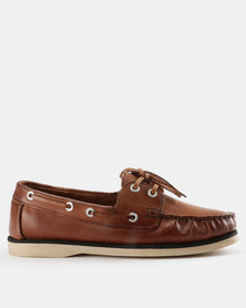 Beaver Canoe Bugarri Genuine Leather Two Tone Docksider Shoes Cognac/Brown classic sale online buy cheap wide range of sale outlet locations cheap buy authentic free shipping online JvGPazkv