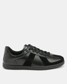 Soviet Tesla Sneakers Black Mono