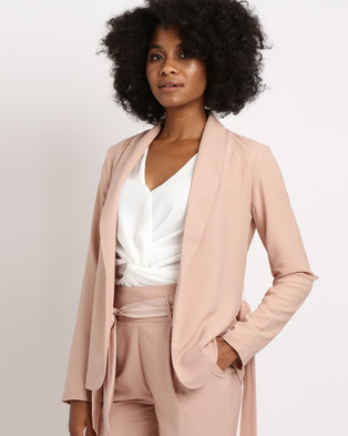 Sassoon Light Weight Jacket Nude