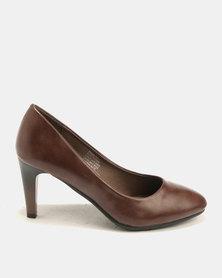 Butterfly Feet Shiloh Court Heels Brown