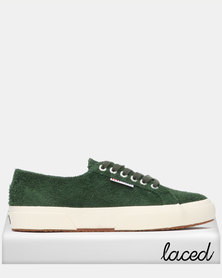 Superga Classic Hairy Suede Lo Sneaker 102 Sherwood Green