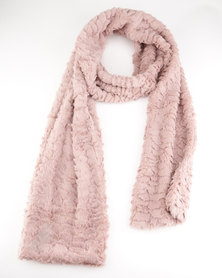 Lily & Rose Winter Scarf Pink