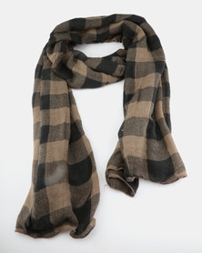 Lily & Rose Checked Scarf Multi