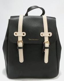Blackcherry Bag Backpack Black/Beige