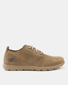 Caterpillar Arven Lace Up Shoes Beaned Tan