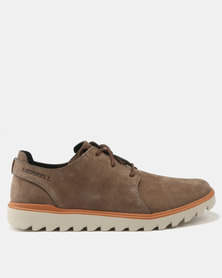 Merrell Downtown Sunsill Lace Ups Stone