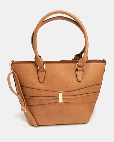 Blackcherry Bag Hand Bag Tan