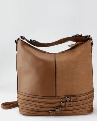 Blackcherry Bag Hobo Bag Tan