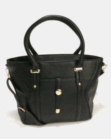 Blackcherry Bag Smart Handbag Black