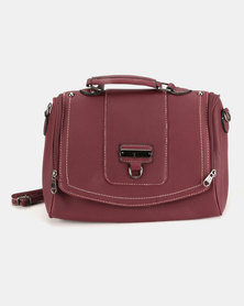 Blackcherry Bag Crossbody Burgundy