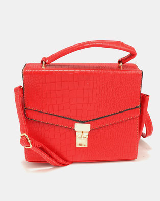 Blackcherry Bag Crossbody Red