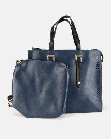 Blackcherry Bag Smart Handbag Navy