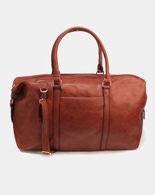 Blackcherry Bag Overnight Bag Brown