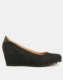 Butterfly Feet Hera Wedge Black