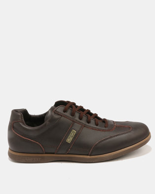 Omega Lace Up Shoe Choc Tempest/Cordovan Fiesta