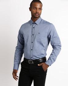 JCrew Fancy Design Shirt Blue