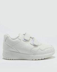 Soviet Maldini Kids Sneakers White Mono