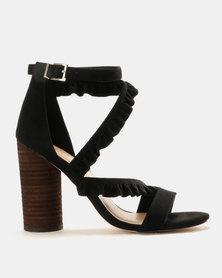 Call It Spring Quarata Heels Black