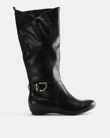 Call It Spring Kirschenbaum Boots Black