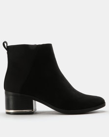 Call It Spring Nunalla Ankle Boots Black