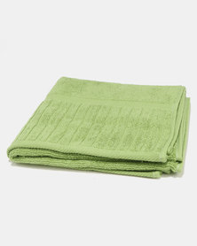 Colibri Towelling Galleon Bath Towel Greenery