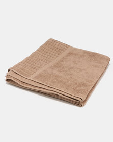 Colibri Towelling Gallen Bath Towel Brown