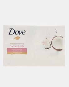 Dove Coconut Milk 4 Pack Bar 100g