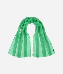 FRAAS Women Wafer Cloth Look Basic Monochrome Scarf LT.Green