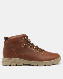 Caterpillar Impart Lace Up Shoes Peanut