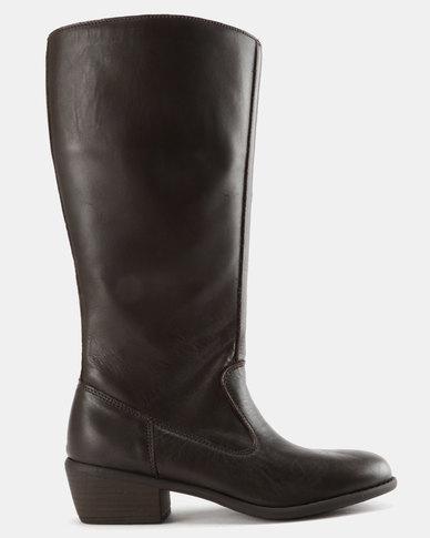 buy cheap really Tsonga Tsonga Dedela Knee High Boots Chocolate with mastercard cheap online yZTWR12B6x