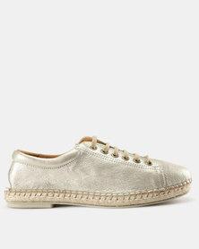 Tsonga Yebo Lace Up Sneakers Beige