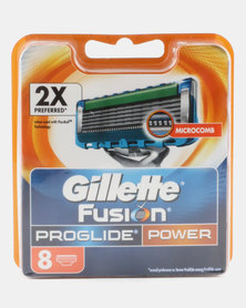 Gillette Fusion Pro Glide Power Cartridges 8's