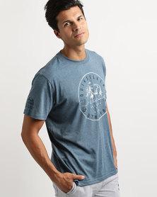 Quiksilver Tusk Destination T-Shirt Blue