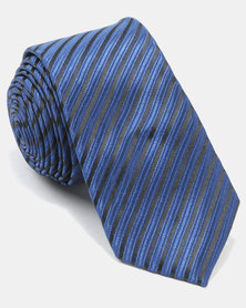 Joy Collectables Textured Tie Blue