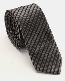 Joy Collectables Textured Tie Grey