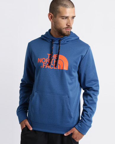 a640ef296 The North Face Surgent Hoodie Sweatshirt Turkish Sea