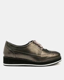 Dolce Vita Skywalker Brogue Shoes Pewter