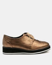 Dolce Vita Skywalker Brogue Shoes Bronze