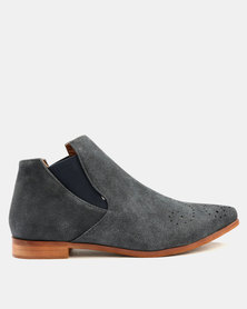 Dolce Vita Stetson Ankle Boots Navy