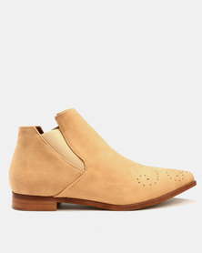 Dolce Vita Stetson Ankle Boots Honey Brown